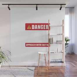 May be Hostile Before Morning Coffee Wall Mural