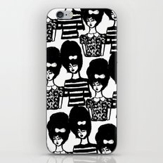 Bouffant Girls iPhone & iPod Skin