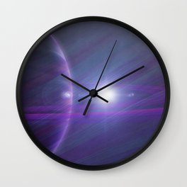 A world away Wall Clock