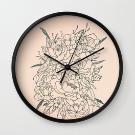 Bouquet series Wall Clock