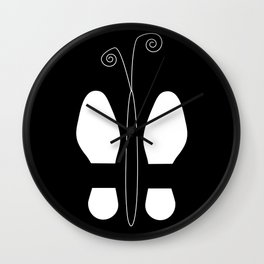 Shoes-Butterfly Wall Clock