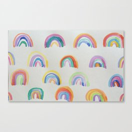 Rainbow Party Canvas Print