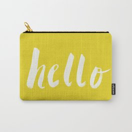 Hello x Sunshine Script Carry-All Pouch