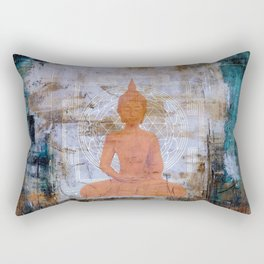 Buddha Mandala Rectangular Pillow