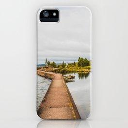 Artist Point Trail, Grand Marais, Minnesota 1 iPhone Case