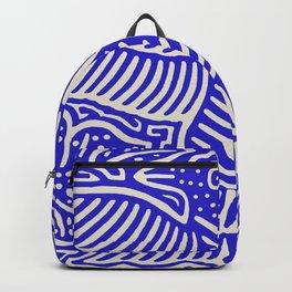 San Blas Island Pajaro - Blue Backpack