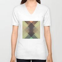 the xx V-neck T-shirts featuring RAD XX by Metron