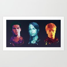 Hunger Games 3 Art Print