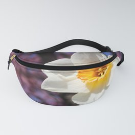 Daffodil with Cherry Blossoms Fanny Pack