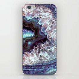 Ocean Blues Quartz Crystal iPhone Skin