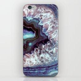 Ocean Blues Quartz Crystal iPhone Skin
