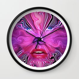 DMT Hallucination Wall Clock