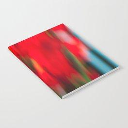 Red Gladiola Notebook