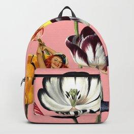 Mermaid Land #collage Backpack