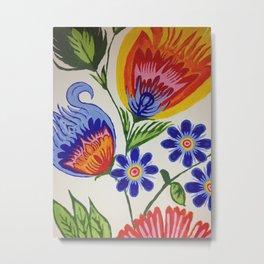 Flowers of life Metal Print
