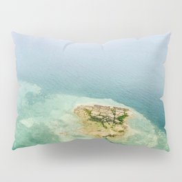 Green patch  Pillow Sham