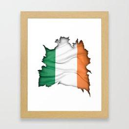 Irish Inside Framed Art Print