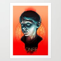 ouat Art Prints featuring Henry - OUAT by Seventy-three
