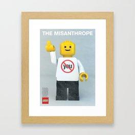 The Misanthrope Framed Art Print