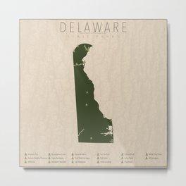 Delaware Parks Metal Print