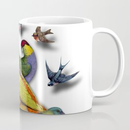 BIRDS ICE CREAM Coffee Mug