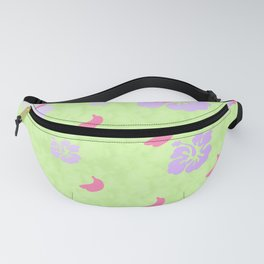 Tropical Pattern Green Fanny Pack