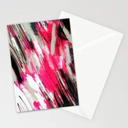 Pink Abstract Stationery Cards
