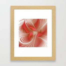 elegant flames -3- Framed Art Print