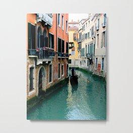 Venice Streets Metal Print