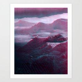 mønøglitchic_07 Art Print