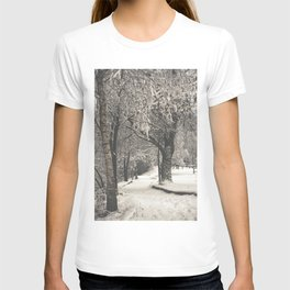 Walking in the Snow T-shirt