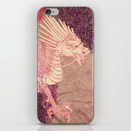 The Red Dragon iPhone Skin