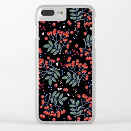 wild berries Clear iPhone Case