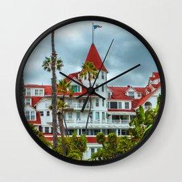 The Hotel Del Coronado Wall Clock