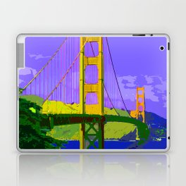 Golden_Gate_Bridge_2015_0414 Laptop & iPad Skin