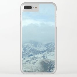 Little Mountain Clear iPhone Case