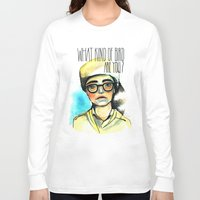 moonrise kingdom Long Sleeve T-shirts featuring Moonrise Kingdom by Nastia Ginger