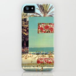 Pillow on the beach iPhone Case