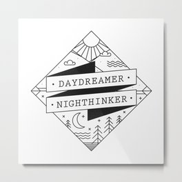 daydreamer nighthinker II Metal Print