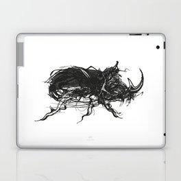 Beetle 1. Black on white background Laptop & iPad Skin