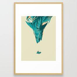 Snack Framed Art Print