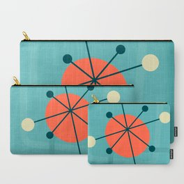 Mid century atomic design Carry-All Pouch