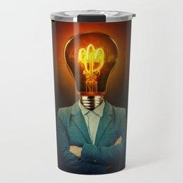 bulb head Travel Mug
