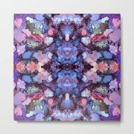 psychedelic flower ii Metal Print