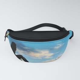 Evening Sunset Landscape - Mountain Girl Fanny Pack