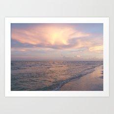 Sunset on Sanibel Art Print