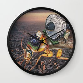 Cockroach Airways Wall Clock
