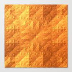 Golden Quilt Canvas Print