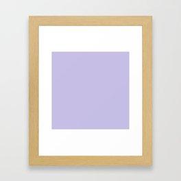 Pale Lavender Framed Art Print