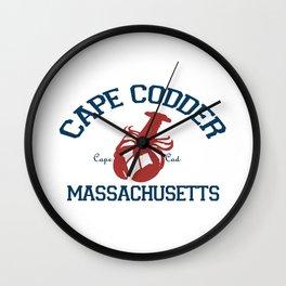 Cape Cod, MA Wall Clock